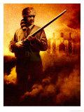 Davy Crockett Print