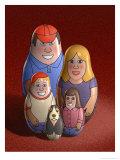 Nesting Dolls Affiches