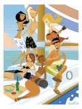 Boat Party Prints
