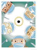 Surgical Patient's View of Five Doctors Posters