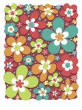 Flower Texture Prints