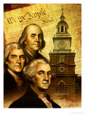 Constitution Day Montage Obrazy