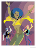 Disco Dancers Prints
