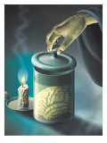 Brain in a Jar Posters