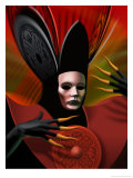 Venice Carnival Mask Poster