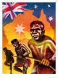 Australia Day Montage Prints
