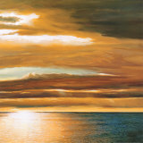 Reflections on the Sea II Print by Dan Werner