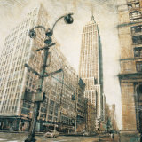 Empire State Building from Madison Avenue Prints by Matthew Daniels