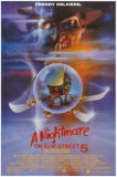 Nightmare On Elm Street 5 Posters