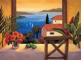 Ocean Breeze II Art par Elizabeth Wright