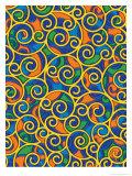 Texture, Swirls Affiches