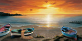 Al calar del sole Affiches par Adriano Galasso