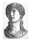 Agrippina Noble and Heroic Roman Woman Wife of Germanicus Mother of Caligula Giclee Print by P. Beckert
