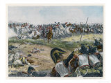 Battle of Waterloo Opposing Cavalry About to Meet Giclee Print by H. Chartier