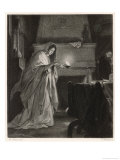 Macbeth, Lady Macbeth Sleep Walking Giclee Print by M. Adamo
