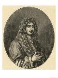 Christiaan Huygens, Giclee Print