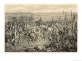 The Imperial Army Under Ferdinand of Hungary Defeats the Swedish-German Allies at Nordlingen Giclee Print by C.a. Dahlstrom