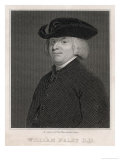 William Paley Archdeacon of Carlisle Philosopher Author of Evidences of Christianity Giclee Print by Robert Cooper