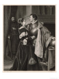 Henry IV, Hotspur and His Wife Giclee Print by M. Adamo