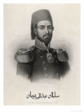 Abdul Mecid 1 (Or Mejid Medschid) Ottoman Sultan Ruled 1839-1861 Giclee Print by W.j. Edwards