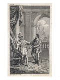 Othello, Act IV Scene I: Room in the Castle: Othello and Iago Discuss Desdemona's Adultery Giclee Print by Issac Taylor