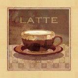 Latte Affiches par Linda Maron