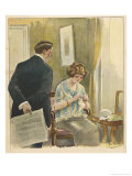 Anticipation of Pregnancy Giclee Print by Albert Guillaume