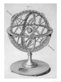 An Armillary Sphere Giclee Print by Benard 
