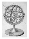 An Armillary Sphere Giclee Print by  Benard
