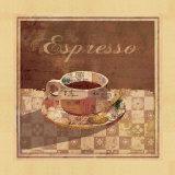 Espresso Poster by Linda Maron