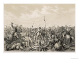 Battle of Stamford Bridge Harald Godwinson Giclee Print by P.n. Arbo
