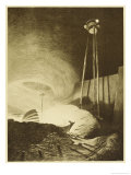 The War of the Worlds a Martian Fighting-Machine Giclee Print by Henrique Alvim Corrêa