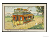 Mobile Home Giclee Print by Jean Marc Cote