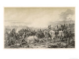 The Imperial Forces Under Tilly are Defeated by Gustaf Adolf at Leipzig Giclee Print by C.a. Dahlstrom