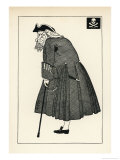 Arthur Bourchier as Long John Silver in the Stage Production Giclee Print by Powys Evans