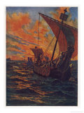 Dawn Raiders Giclee Print by J.h.valda Valda
