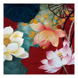 Lotus Dream I Prints by  Hong Mi Lim