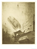 The War of the Worlds, The Fall of the Fifth Martian Cylinder Giclee Print by Henrique Alvim Corrêa