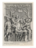 The Entry of Augustus Caesar into Syria Giclee Print by Pietro Santi Bartoli