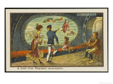 Admiring the View from the Deck of an Under-Ocean Liner Giclee Print by Jean Marc Cote