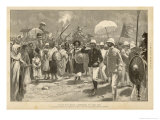 The French Mission Led by Marchand Arrives in Addis Ababa Giclee Print by Eugene Damblans