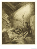 The War of the Worlds, a Martian Handling-Machine, Finds a Victim Premium Giclee Print by Henrique Alvim Corrêa