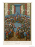 Jean Duc D'Alencon is Accused of Having Conspired with the English Giclee Print by Jehan Foucquet