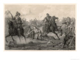 The Swedes Defeat Wallenstein&#39;s Imperial Army Giclee Print by C.a. Dahlstrom
