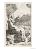 Titus Lucretius Carus Roman Poet and Philosopher Giclee Print by Michael Burghers