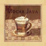 Affiche Mocha - Java Affiches par Linda Maron