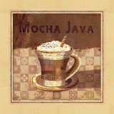 Mocha Java Prints by Linda Maron