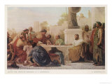 "The Emperor Julian (Known as ""The Apostate"") Presides Over a Conference Giclee Print by E. Armitage"