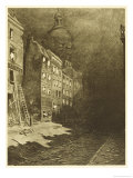 The War of the Worlds, London Deserted Giclee Print by Henrique Alvim Corrêa