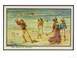 Underwater Croquet Giclee Print by Jean Marc Cote